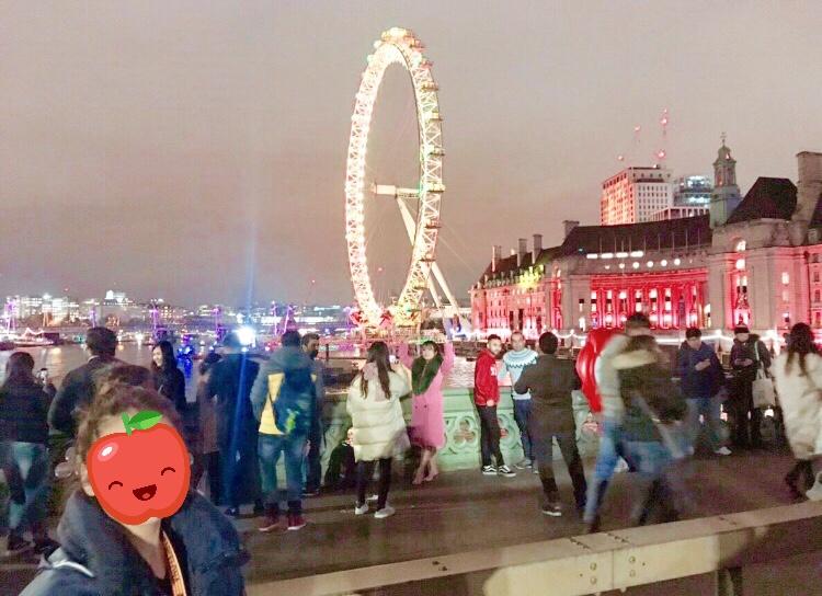 ロンドン カウントダウン 女子 ブログ