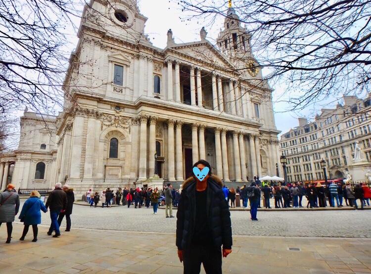 ロンドン観光 セントポール大聖堂 ブログ