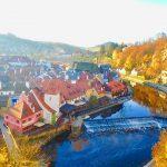 【チェコ】世界一美しい街、チェスキークルムロフを観光!女子旅ブログ
