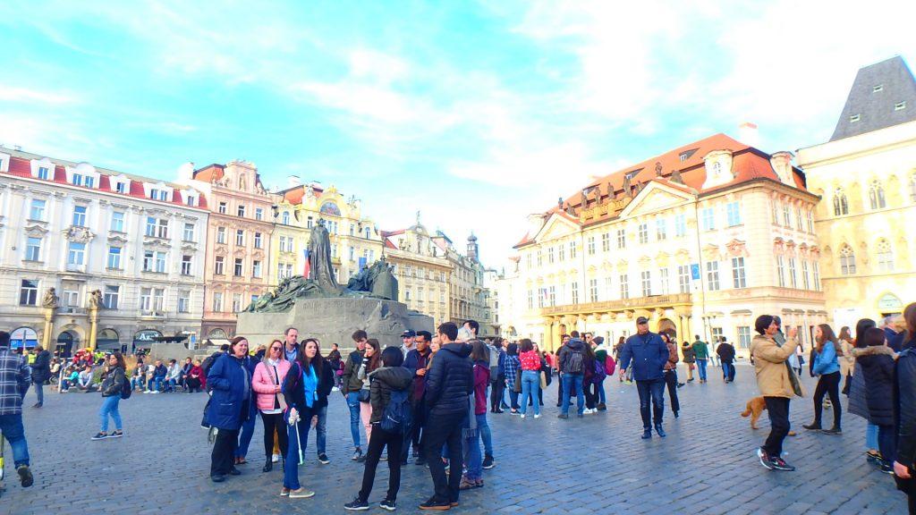 プラハ旅行 服装