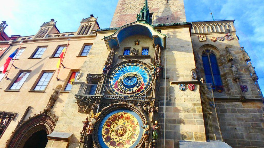 プラハの天文時計 からくり人形