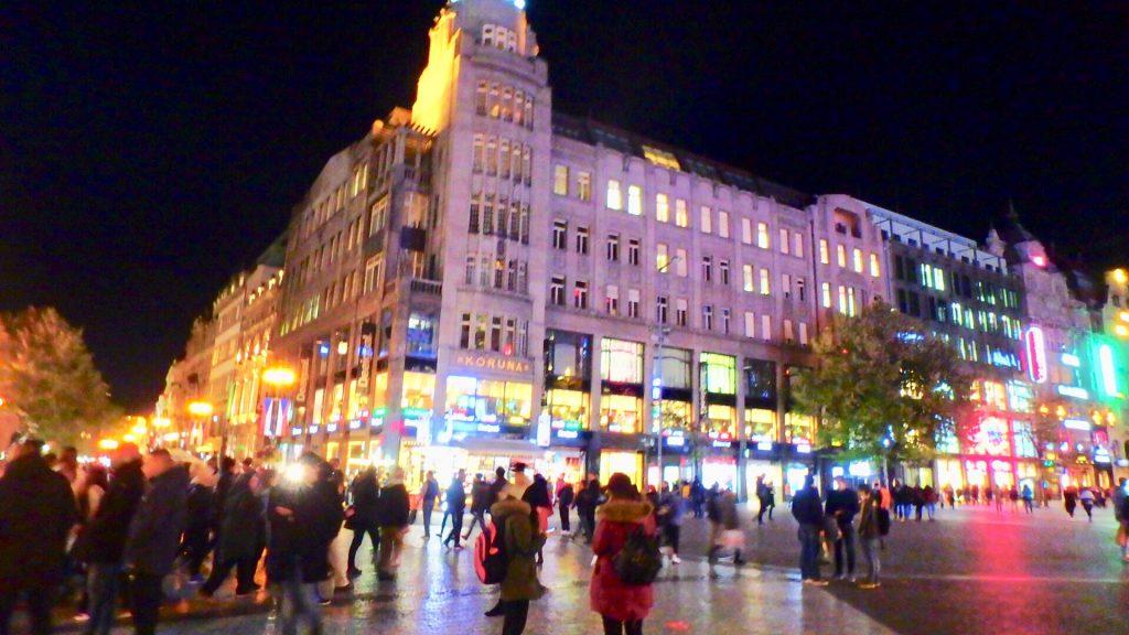 プラハ観光 夜