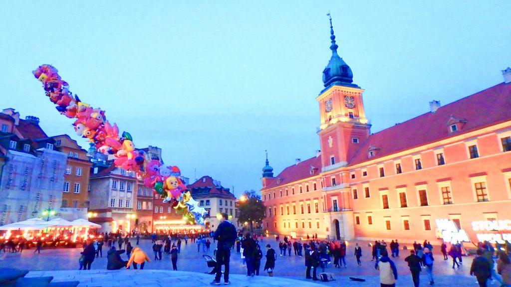 ワルシャワ 観光 旅行記 綺麗