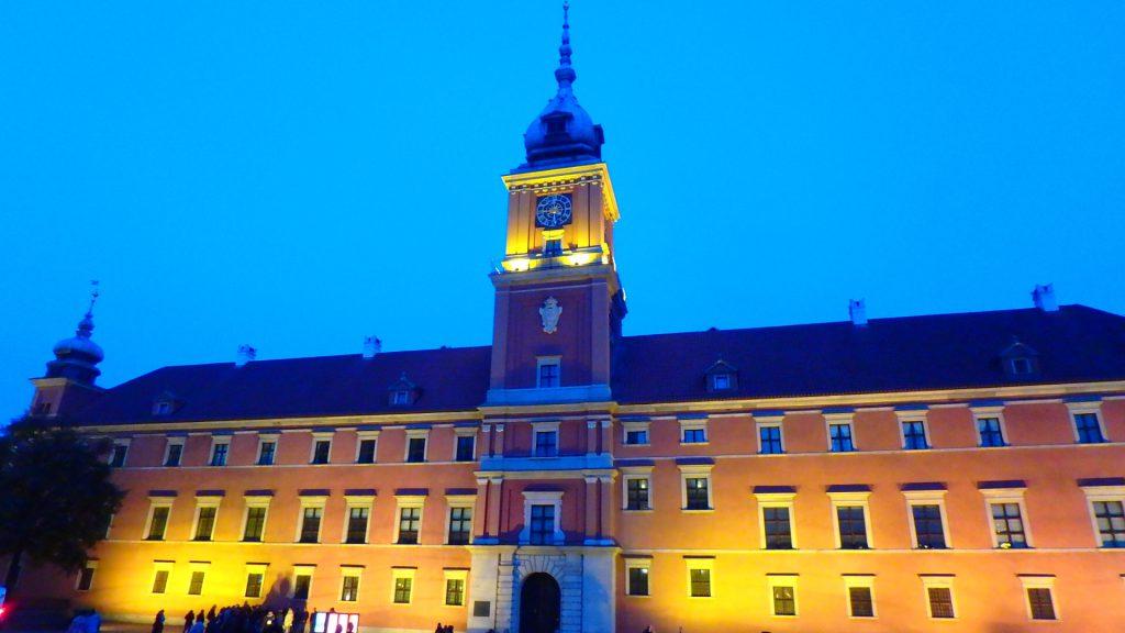 ワルシャワ王宮 観光名所