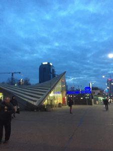 ワルシャワ オホタ 駅 Warszawa Ochota