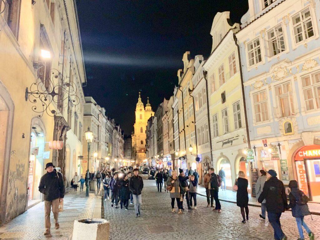 プラハ お土産やさん 旧市街広場