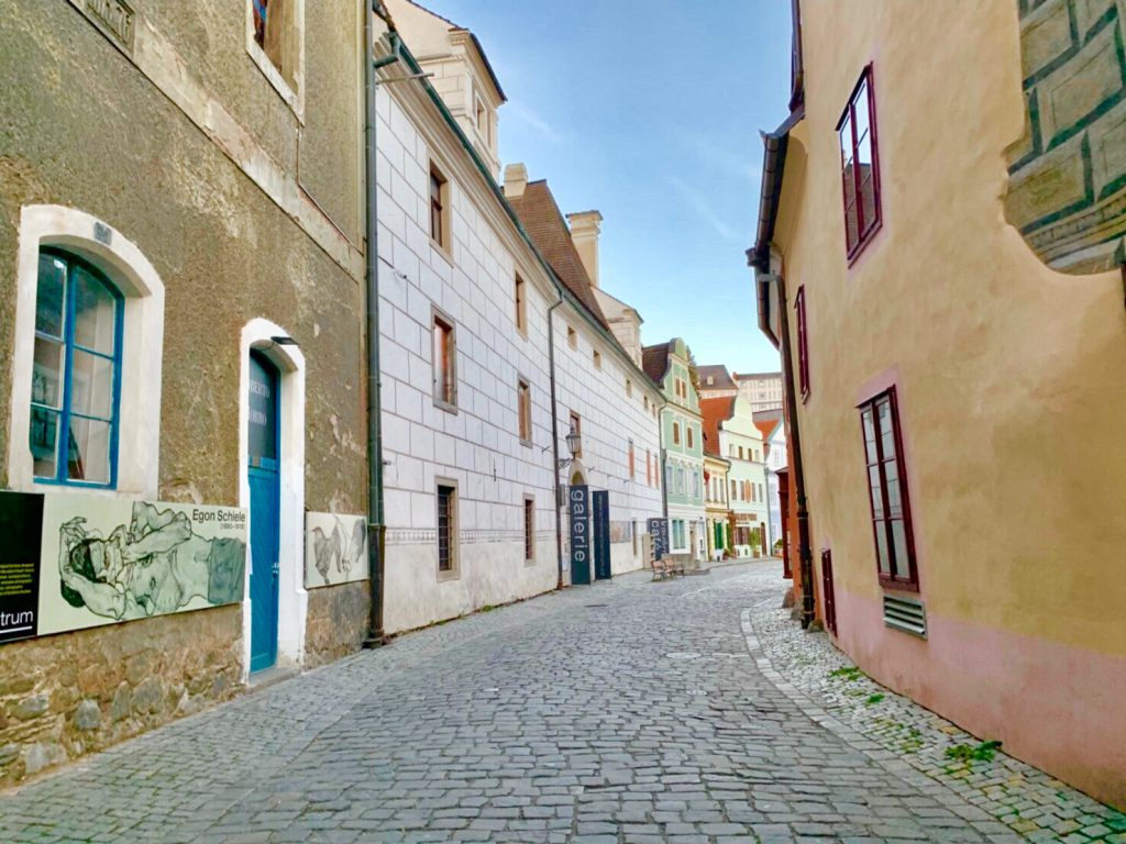 チェコ 可愛い街 チェスキークルムロフ