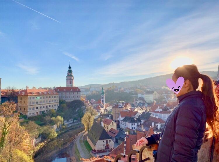 世界一美しい街 チェコ チェスキークルムロフ