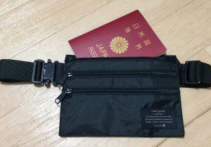 海外旅行 持ち物 バッグ ウエストポーチ