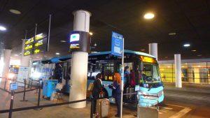 バルセロナ 空港から市内 エアロバス