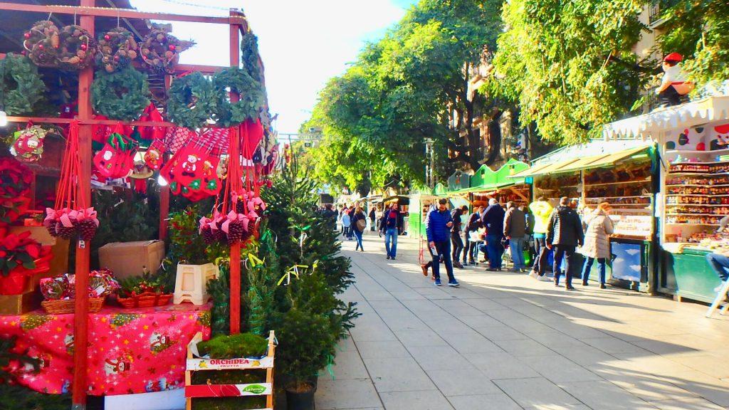 バルセロナ クリスマスマーケット ブログ