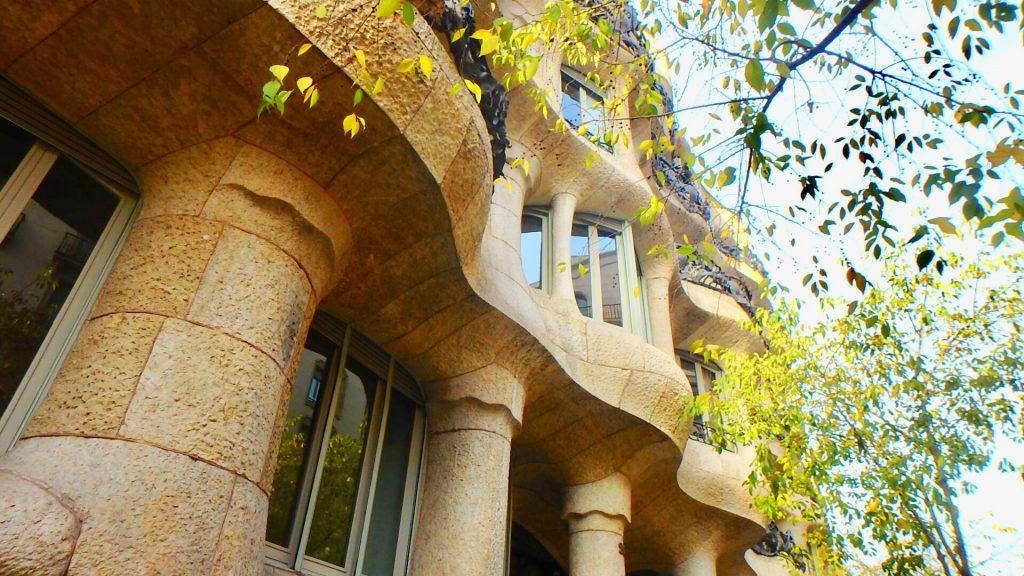 カサ・ミラ バルセロナ観光 ブログ
