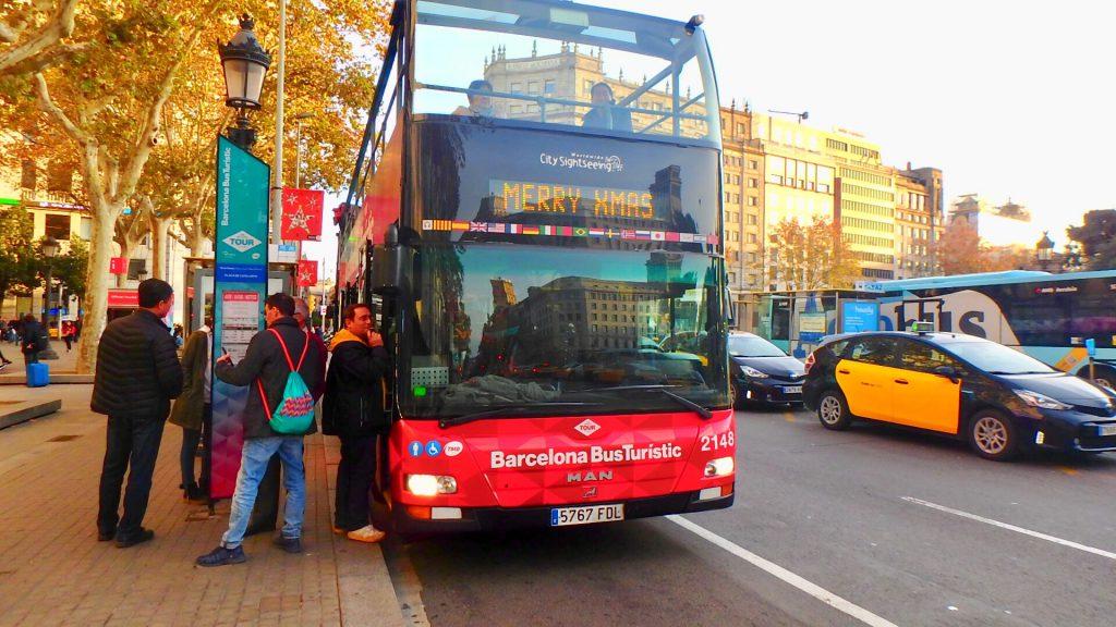 バルセロナ バス クリスマス