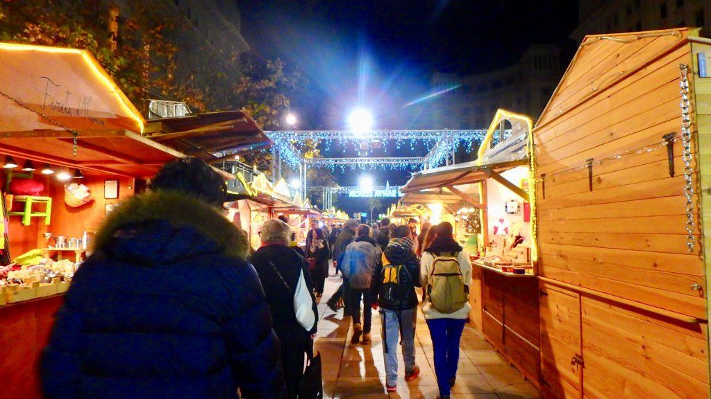 スペイン クリスマスマーケット ブログ