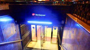 サグラダファミリア 最寄駅 メトロ Verdaguer