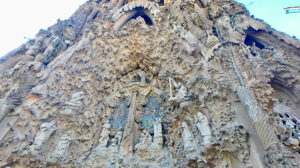 サグラダファミリア 外壁