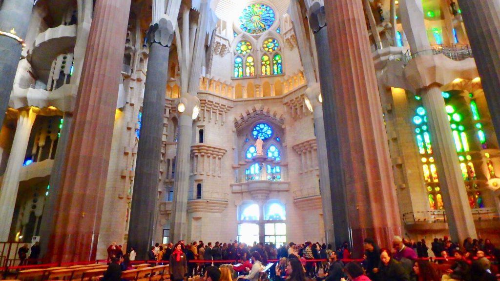 サグラダファミリア 観光 ブログ バルセロナ