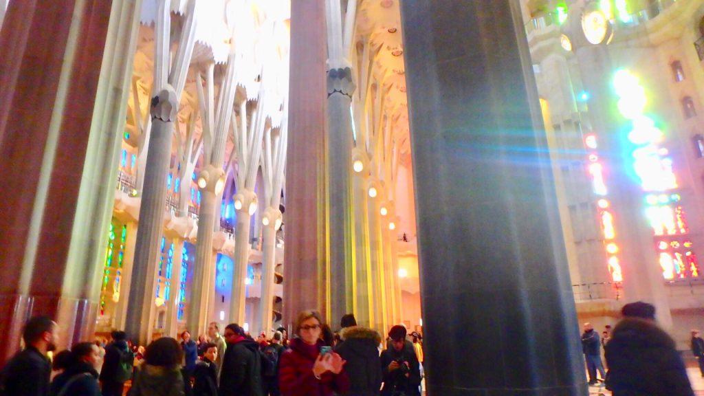 サグラダファミリア バルセロナ 旅行 ブログ 女子