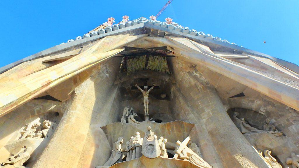 サグラダファミリア キリスト像