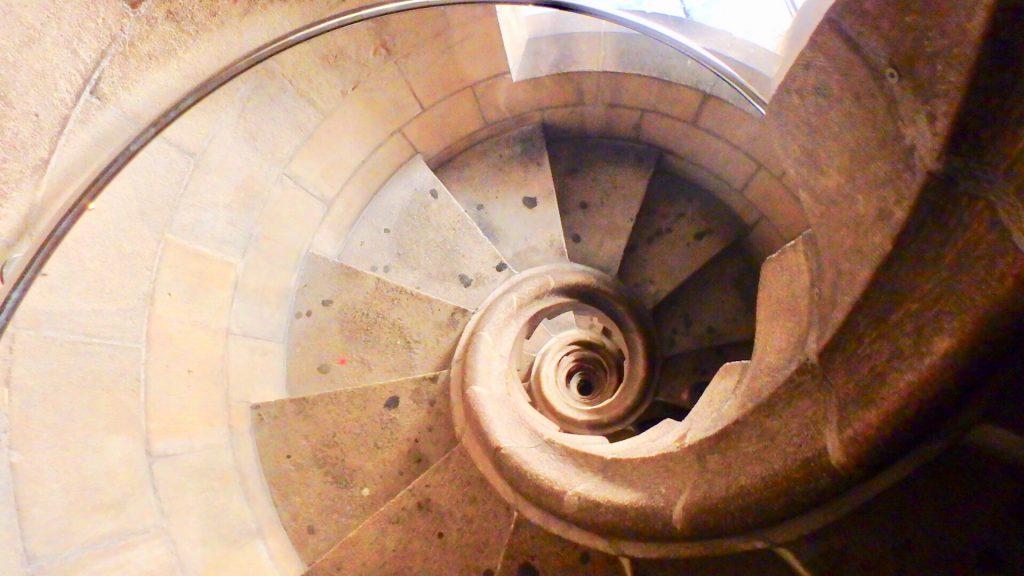 サグラダファミリア 螺旋階段