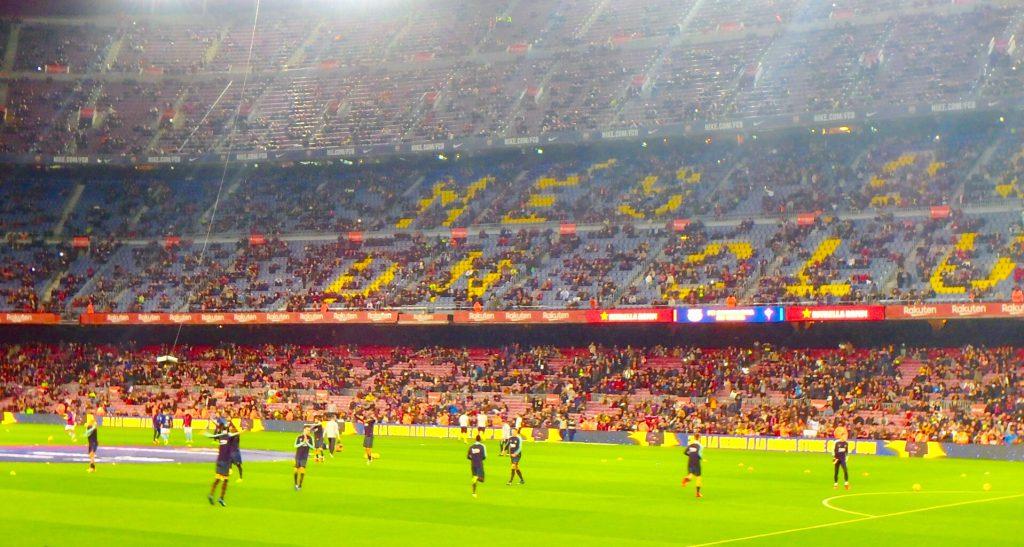 FCバルセロナ 試合観戦