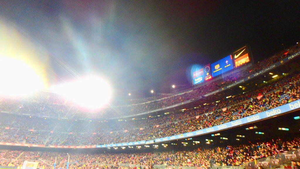カンプノウスタジアム スペイン バルセロナ