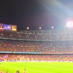 カンプノウスタジアムでFCバルセロナの試合観戦!スペイン旅ブログ