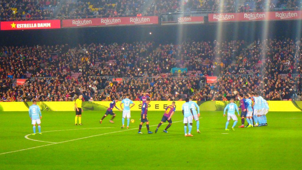 FCバルセロナ 試合観戦 カンプノウ ブログ