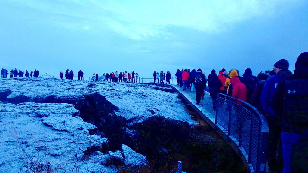 冬のアイスランド旅行 服装
