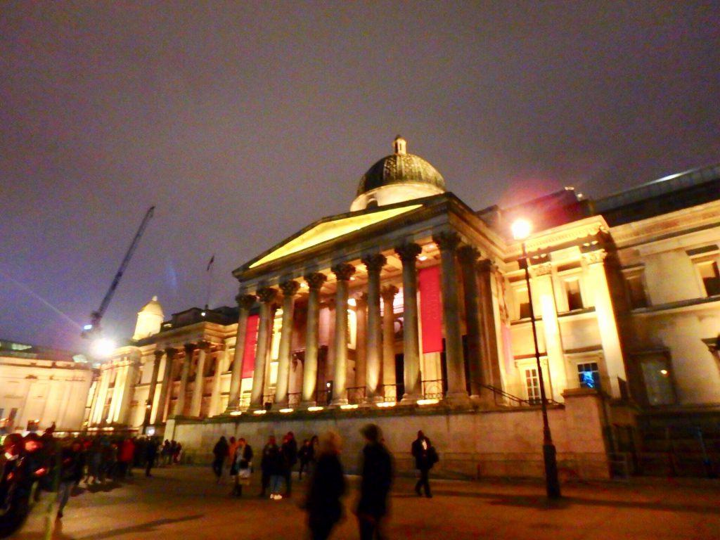 ロンドン トラファルガー広場 美術館 ナショナル・ギャラリー