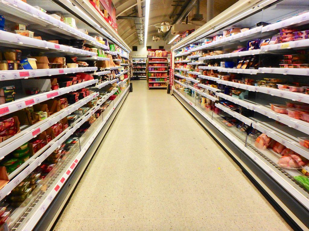 ロンドン スーパーマーケット