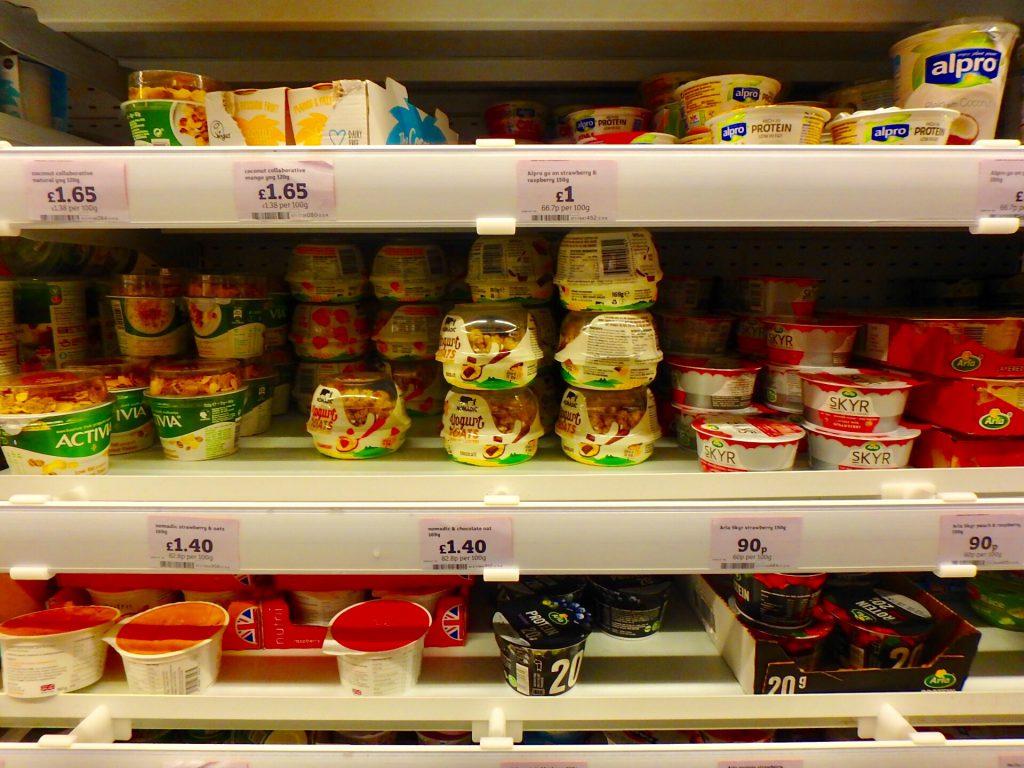 ロンドン スーパー 物価