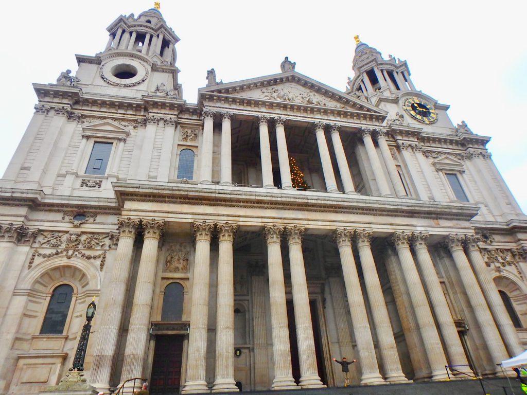 冬 ロンドン旅行 セントポール大聖堂