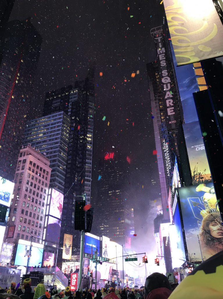 ニューヨーク カウントダウン ブログ