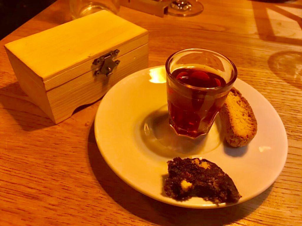 ミラノ 夜ご飯 デザート