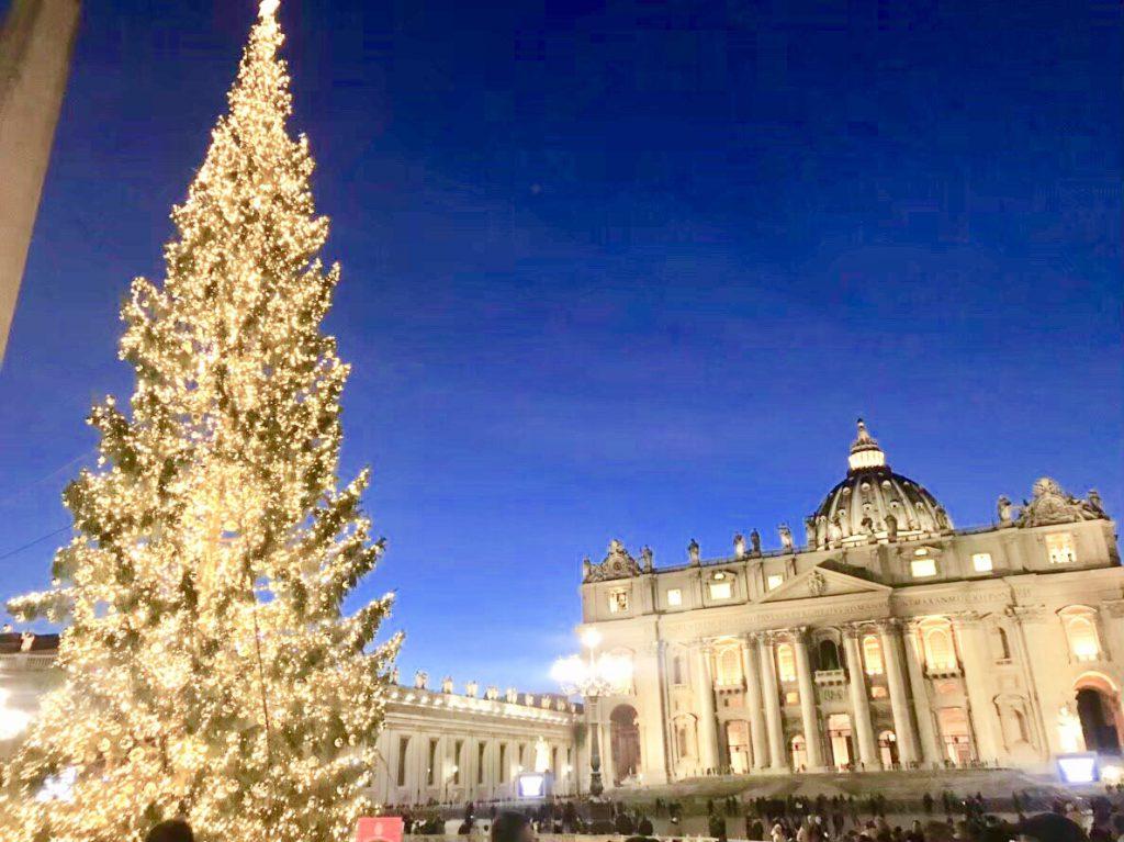 ローマ バチカン市国 クリスマス