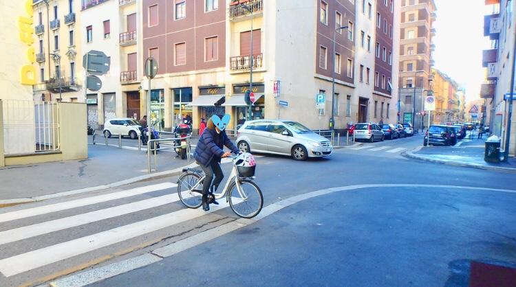 ミラノ 自転車 サイクリング