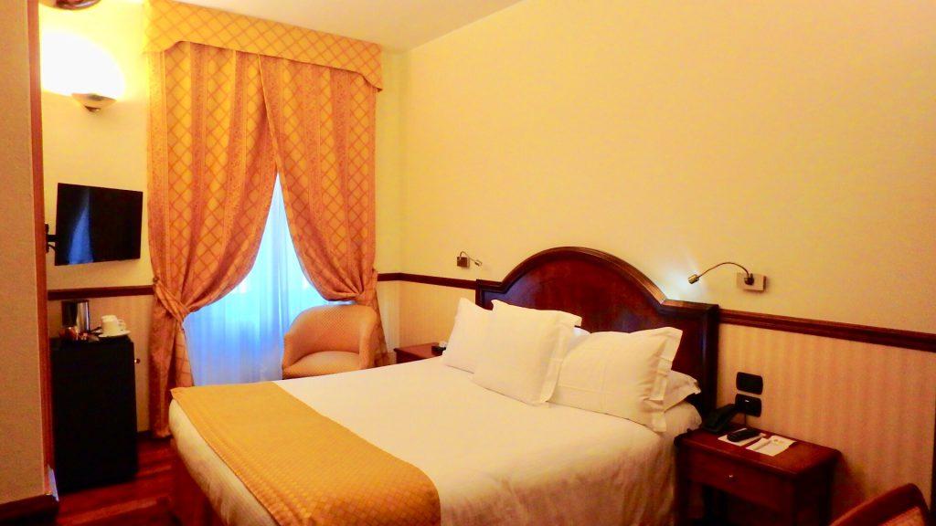 ミラノ ホテル 宿泊記 お部屋の内装 ブログ