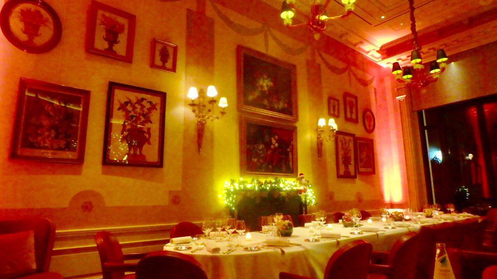 ミラノ クリスマス ディナー