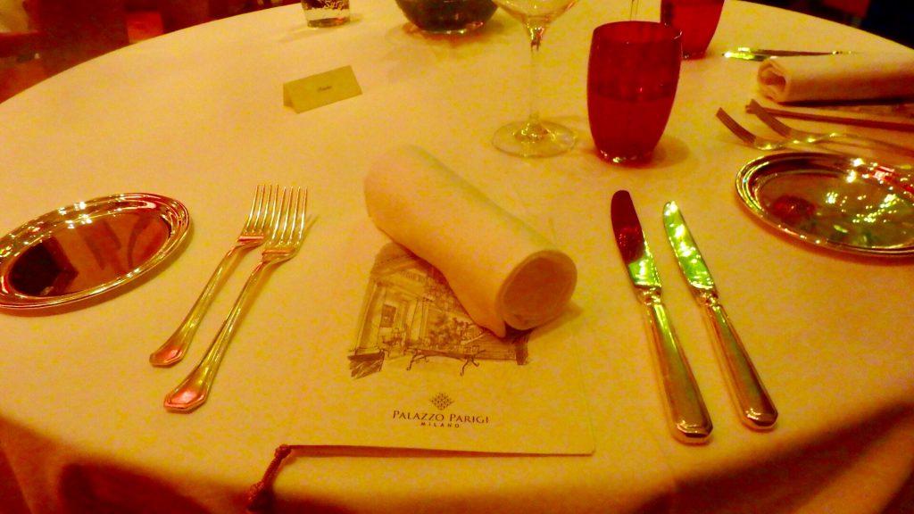 ミラノ ディナー レストラン