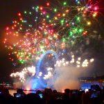 年末年始のロンドン旅行記③テムズ川のカウントダウン花火!旅ブログ
