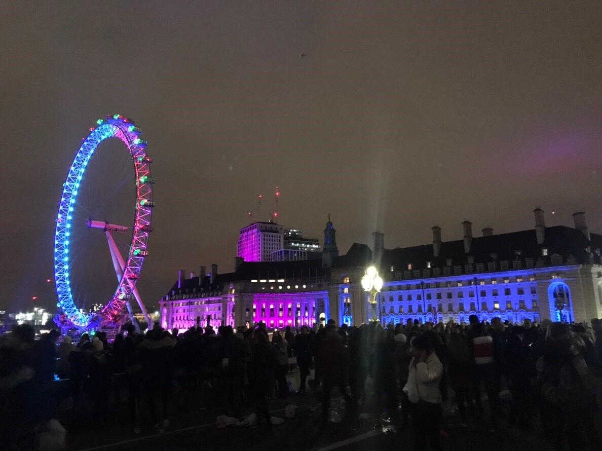 ロンドン旅行 年末年始 ブログ