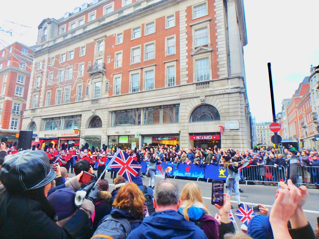 ロンドン 元旦 パレード ブログ