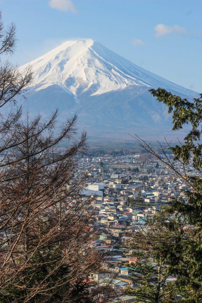 富士山が綺麗に見える場所