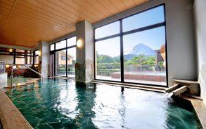 富士山が見える 温泉 貸切