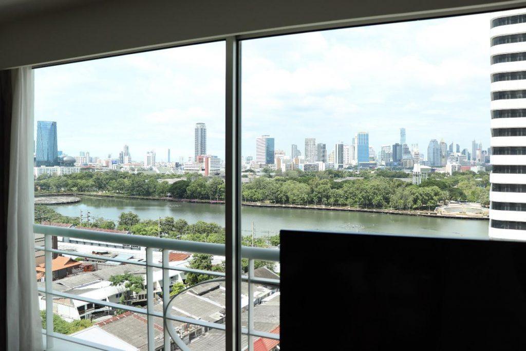 タイ バンコク ホテル お部屋からの眺望