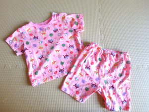 赤ちゃん 旅行 持ち物 パジャマ