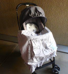 赤ちゃん連れ 旅行 持ち物 授乳ケープ 紫外線対策