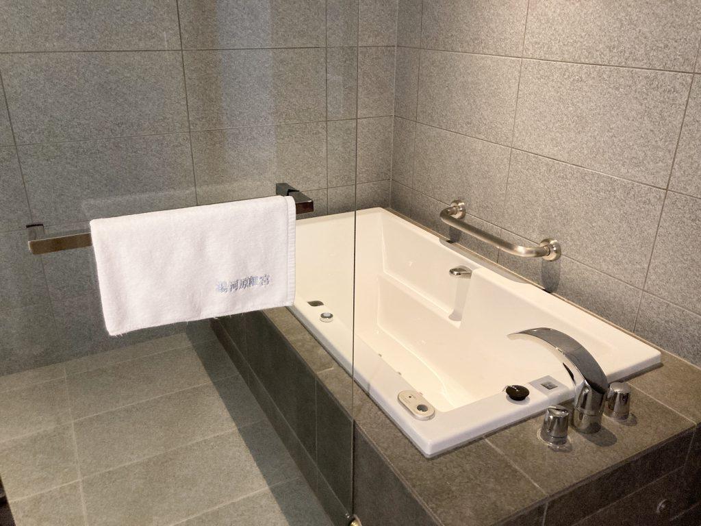 エクシブ湯河原離宮 お風呂 バスルーム