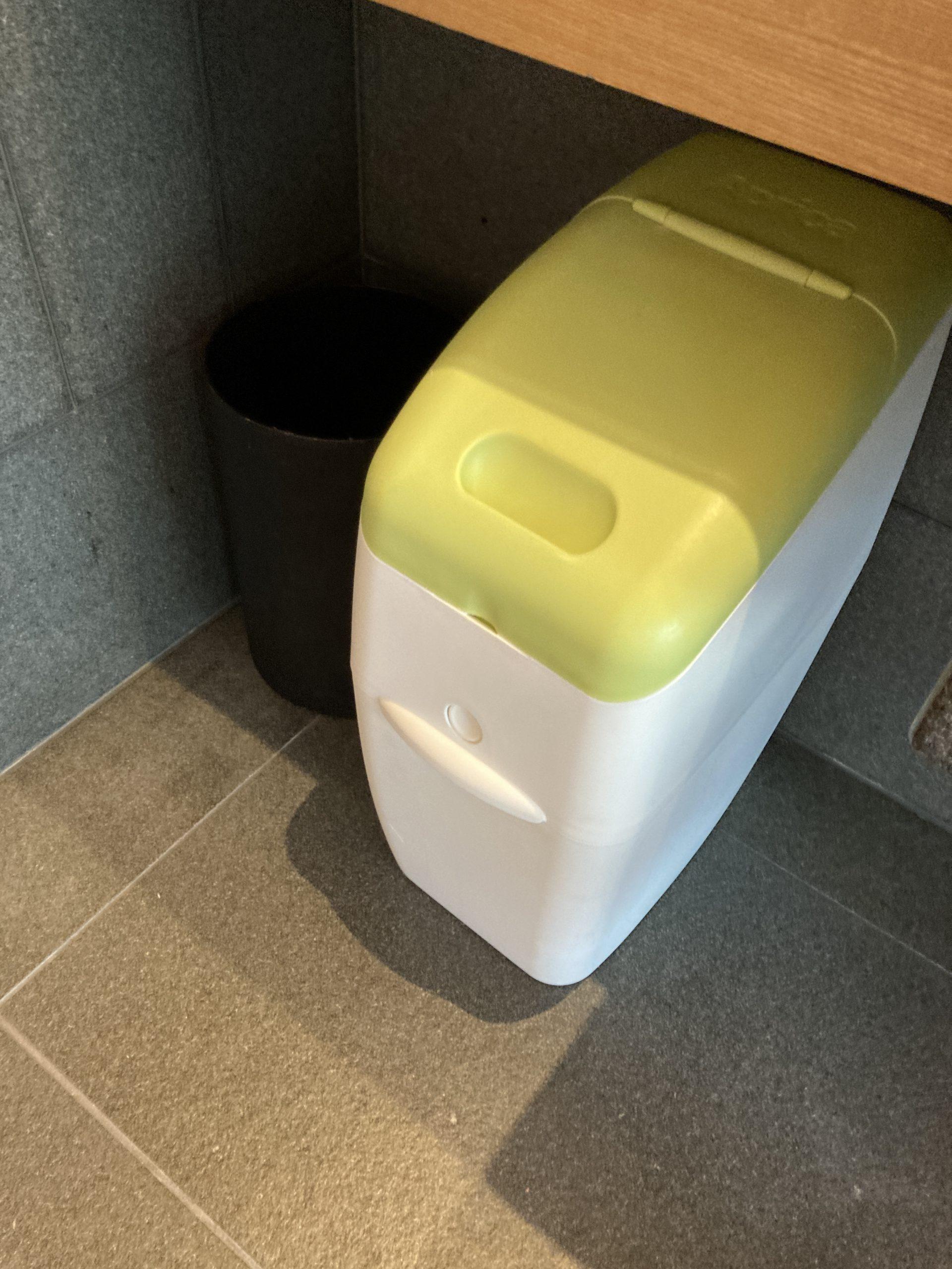 アマン東京 オムツ用ゴミ箱 高級ホテル